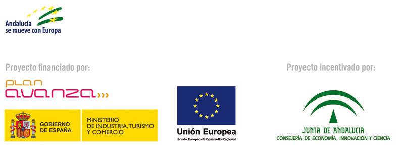 Proyecto incentivado por la Consejería de Innovación, Ciencia y Empresa
